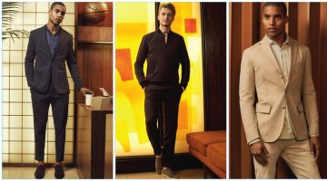 Bloomingdale's curates menswear looks ideal for office wear.