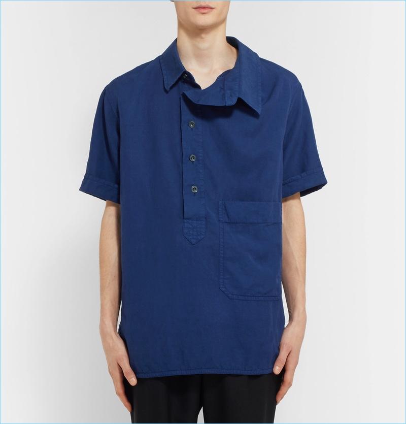 Burberry Men's Oversized Smock Shirt