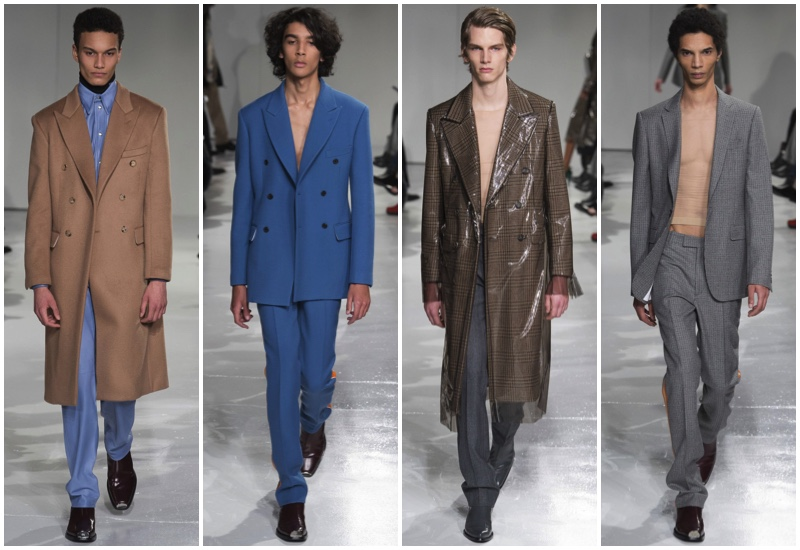 dd57cec5ab Raf Simons presents his fall-winter 2017 debut for Calvin Klein Collection.