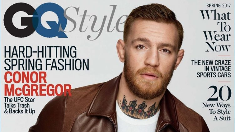 Conor McGregor Covers GQ Style, Talks Fame & Value