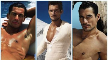 David Gandy fronts advertising campaigns for Dolce & Gabbana Light Blue.