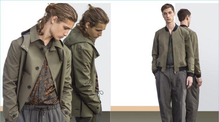 Emporio Armani Embraces a Metropolitan Flair for Spring '17 Collection