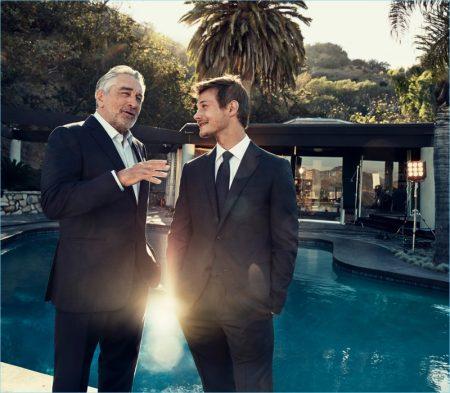 Defining Moments: Robert De Niro & McCaul Lombardi Connect for Ermenegildo Zegna Campaign