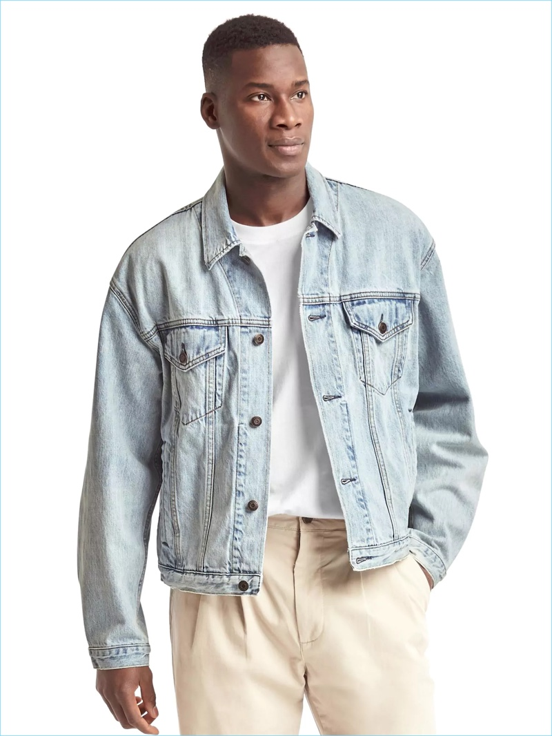 An everyday essential, Gap revisits its heritage denim jacket with its Archive Re-Issue collection.