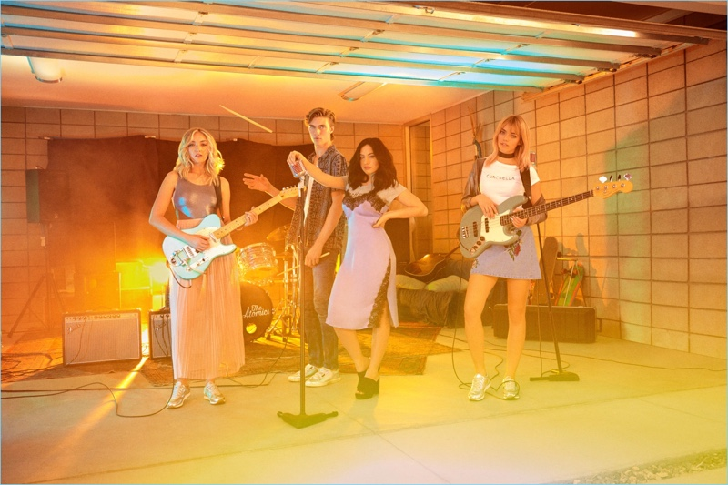 The Atomics come together to star in H&M's new Coachella campaign.
