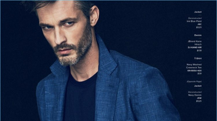 The New Made to Measure: Ben Hill Dons Sharp J.Hilburn Styles