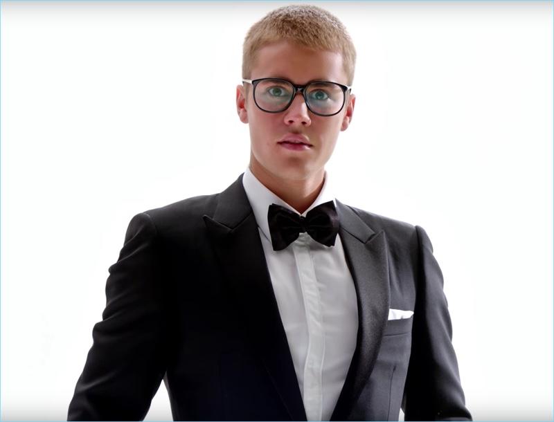 Justin Bieber Dons Dior Homme for T-Mobile Super Bowl Commercial