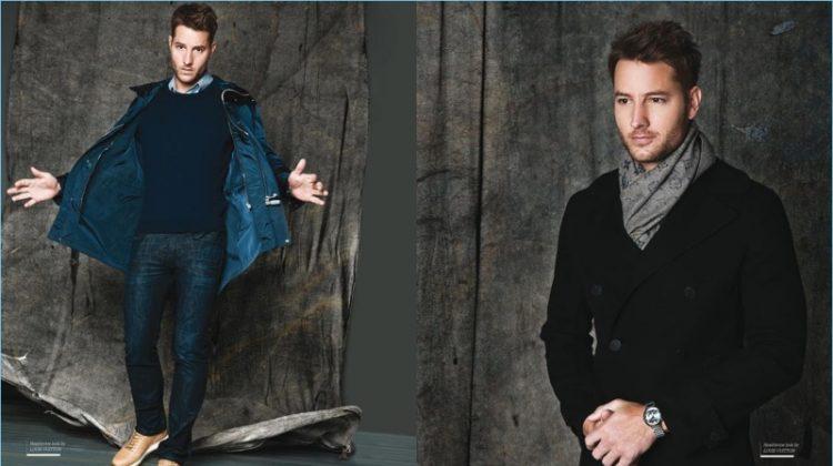 Justin Hartley Dons Louis Vuitton for Haute Living Photo Shoot