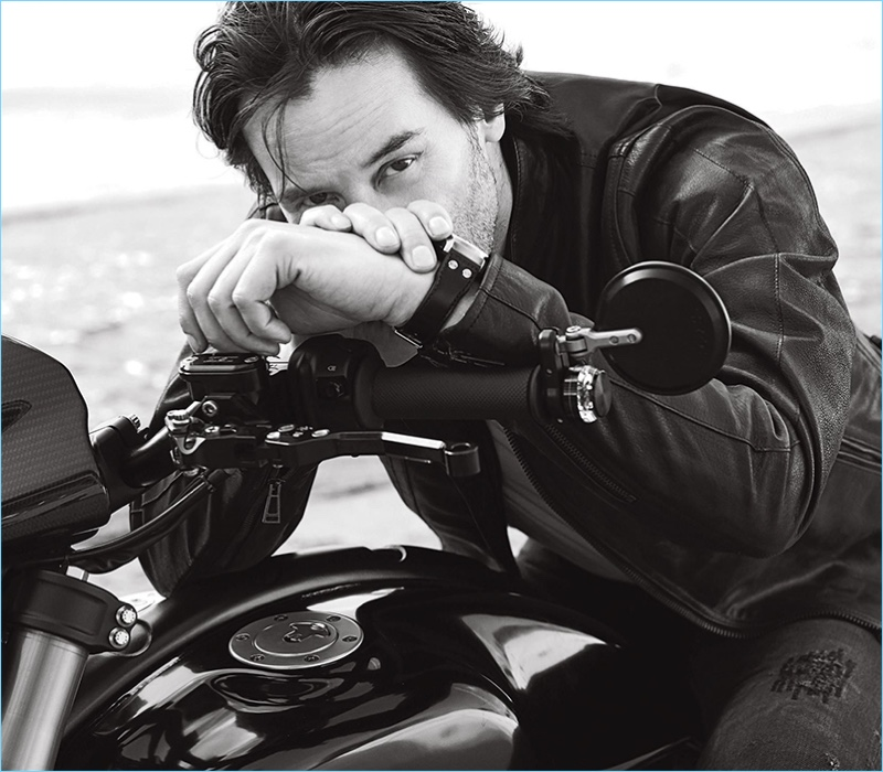 Doug Inglish photographs Keanu Reeves for the pages of Men's Fitness.