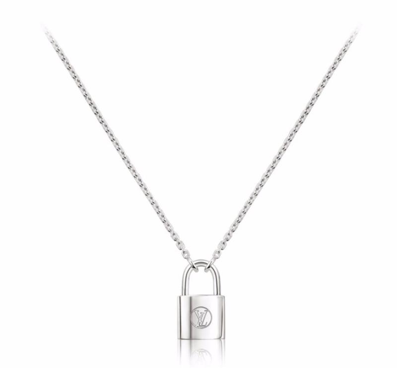 Louis Vuitton Silver Lockit Pendant in Sterling Silver