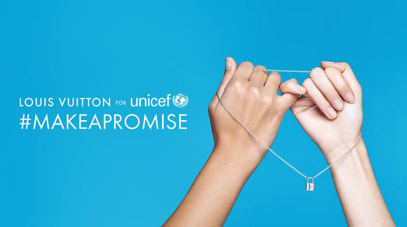 Louis Vuitton makes a promise in partnership with UNICEF.