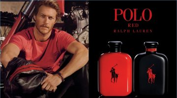 Luke Bracey stars in Ralph Lauren's Polo Red Extreme fragrance campaign.