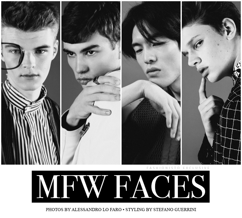 Fashionisto Exclusive: 'MFW Faces' photographed by Alessandro Lo Faro