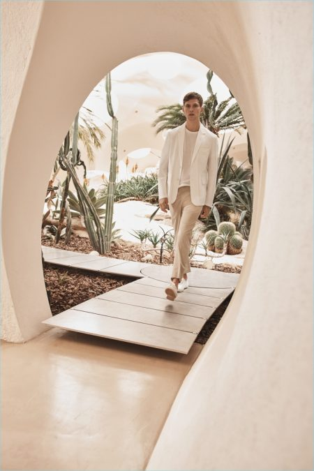 Mango Committed Collection: Mathias Lauridsen Models Conscious Neutrals