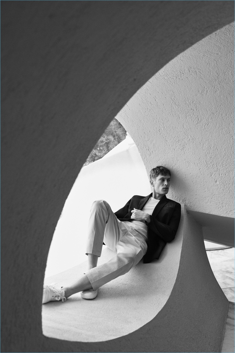 Mango Man taps Mathias Lauridsen to star in its campaign for its Committed Collection.