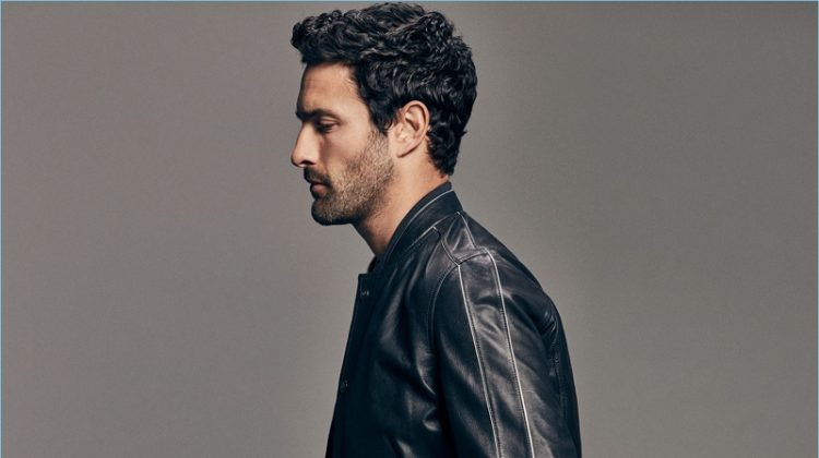 Noah Mills Dons Elegant & Relaxed Styles from Massimo Dutti's Limited Edition Collection