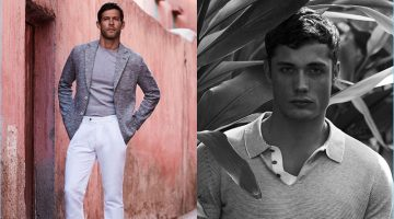 Josh Upshaw and Steven Chevrin travel to Marrakech for Massimo Dutti's spring-summer 2017 campaign.
