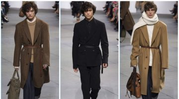 Michael Kors presents its fall-winter 2017 men's collection during New York Fashion Week.