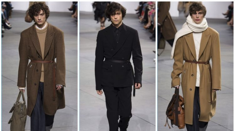 Fall '17: Michael Kors Makes Case for Belted Coats & Relaxed Tailoring