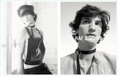 Raf Simons Celebrates Robert Mapplethorpe's Legacy with Spring '17 Campaign