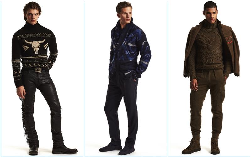 Ralph Lauren Purple Label presents its fall-winter 2017 men's collection.