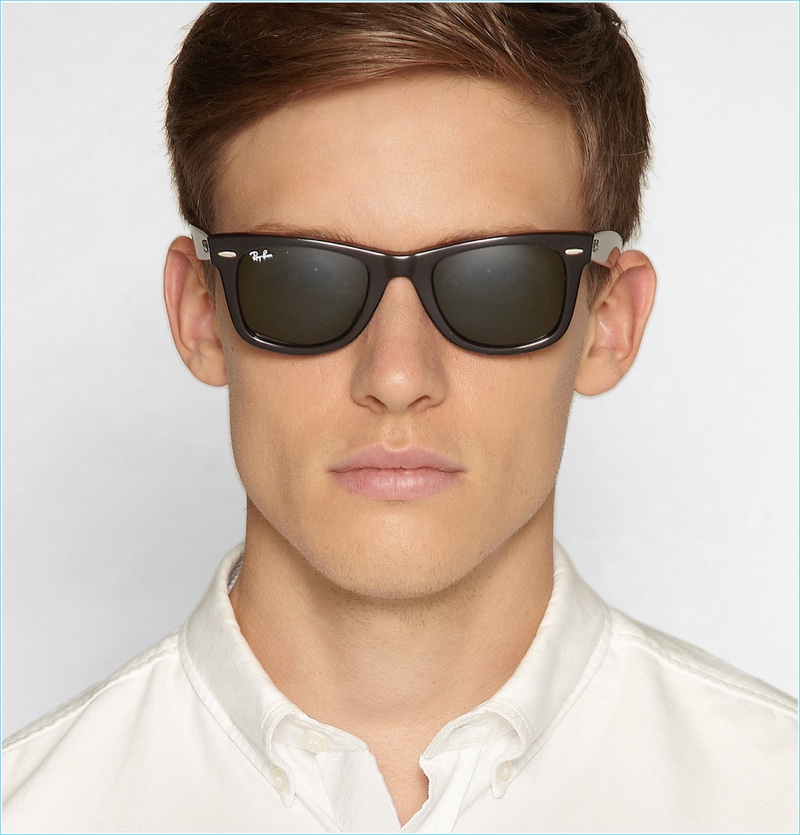 Commit to an easy essential with Ray-Ban s Original Wayfarer sunglasses. 11f89f1dc1