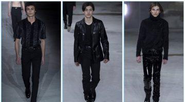 Saint Laurent presents its fall-winter 2017 men's collection during Paris Fashion Week.