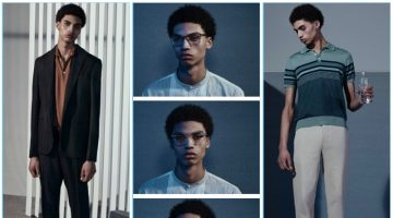 Barneys New York taps model Sol Goss to star in its business style lookbook for the season.