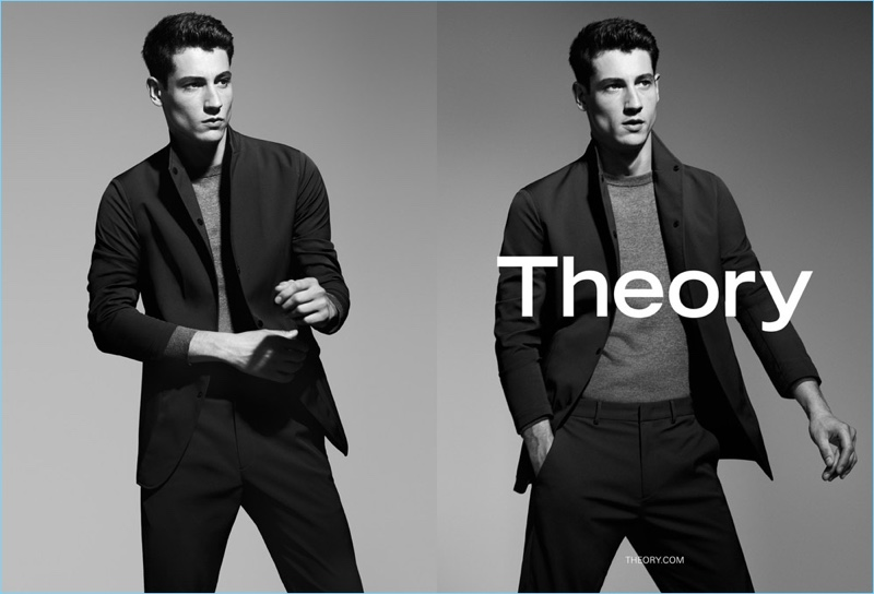 Theory enlists Nicolas Ripoll as the star of its spring-summer 2017 campaign.