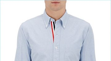 Thom Browne perfects a classic with its blue oxford cloth shirt.