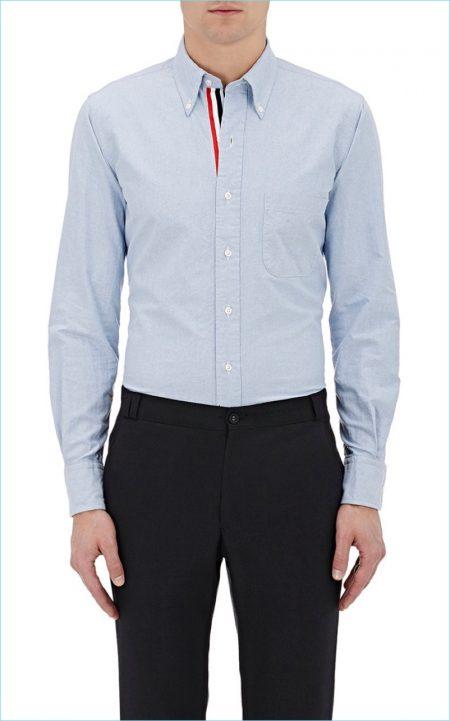 Fashionisto Essential: Thom Browne's Blue Oxford Shirt