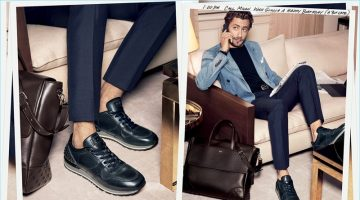 Francesco Carrozzini stars in Tod's spring-summer 2017 advertising campaign.