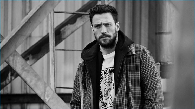 Aaron Taylor-Johnson Connects with Mr Porter, Talks Being a Feminist