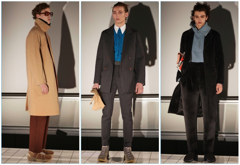 Acne Studios presents its fall-winter 2017 men's collection.