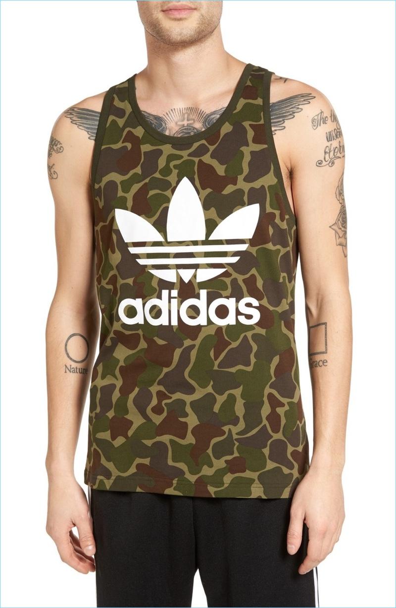 Adidas Originals Camo Print Tank