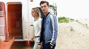 Kit Butler and Gabriel Hulgich take to the beach for BOSS Hugo Boss' spring-summer 2017 campaign.