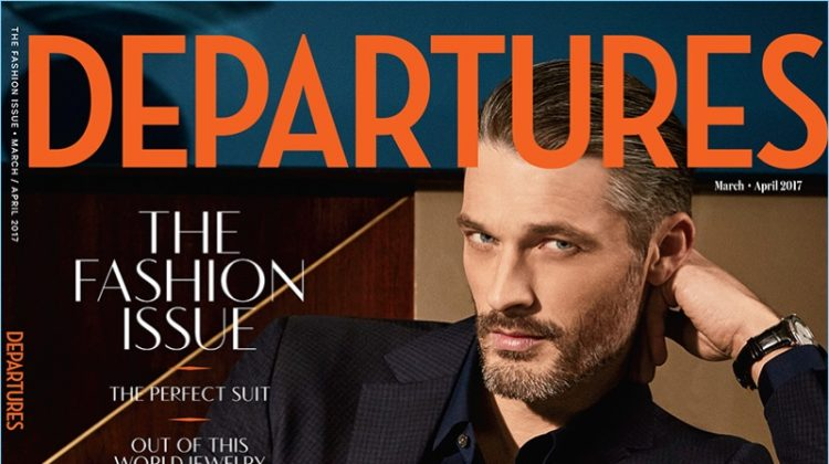 Better By Design: Ben Hill Stars in Departures Cover Shoot
