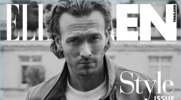 Brad Kroenig covers the latest issue of Elle Men Thailand.