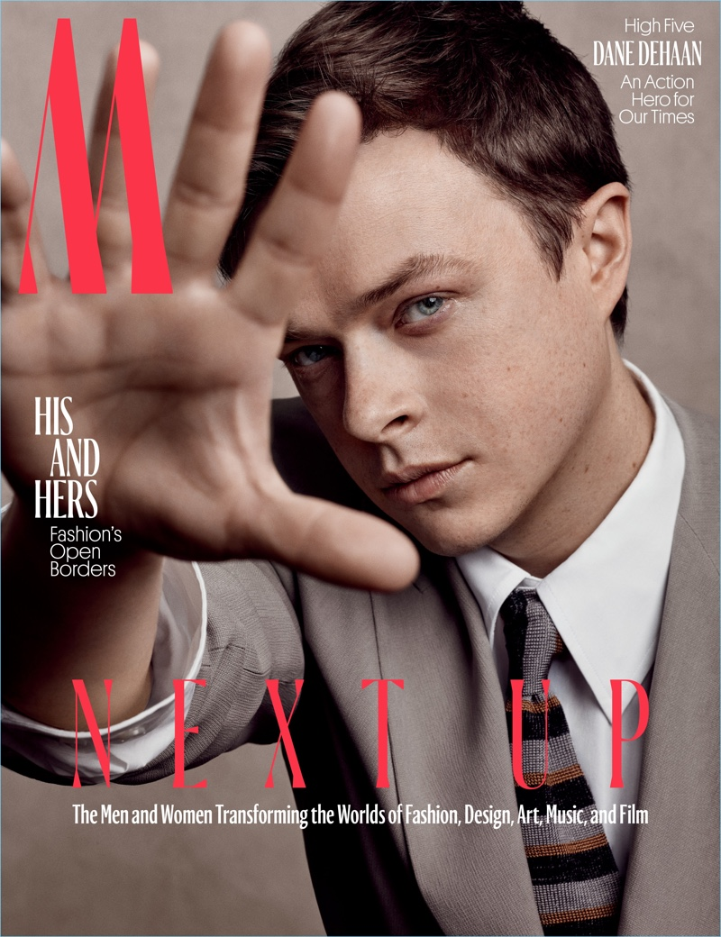Dane DeHaan Covers W Magazine, Makes A Leggy Statement