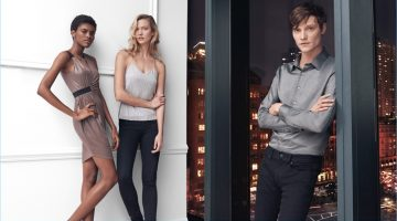 Express highlights sleek, practical fashions for its spring 2017 campaign.