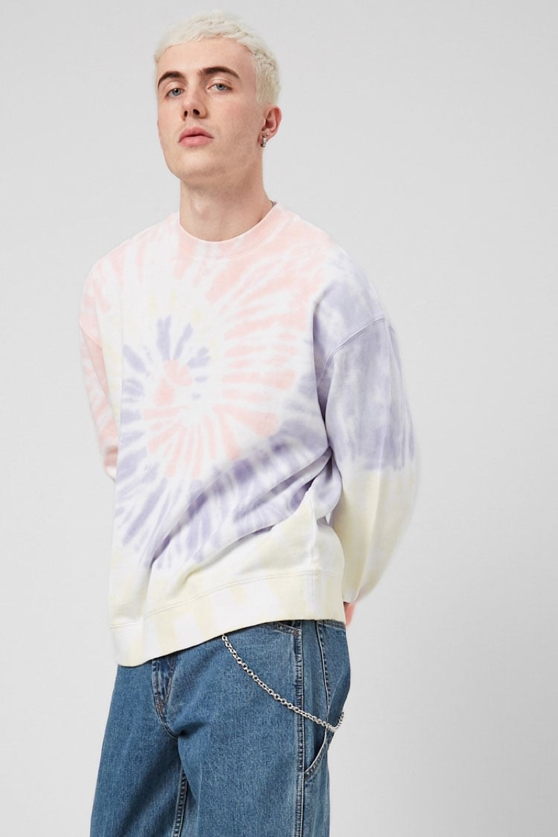 Forever 21 French Terry Tie-Dye Sweatshirt $24.90