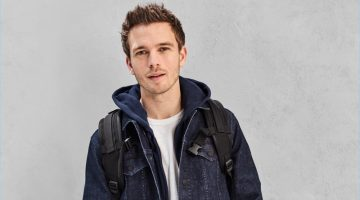 Benjamin Eidem doubles down on denim from Gap's new technical denim collection.