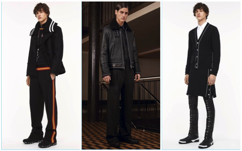 Givenchy presents its pre-fall 2017 men's collection.