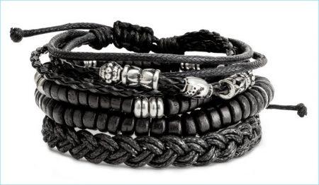 H&M Men 4-pack Bracelets
