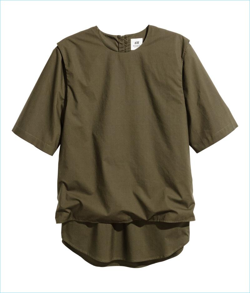 H&M Studio Men's Double Layered T-Shirt