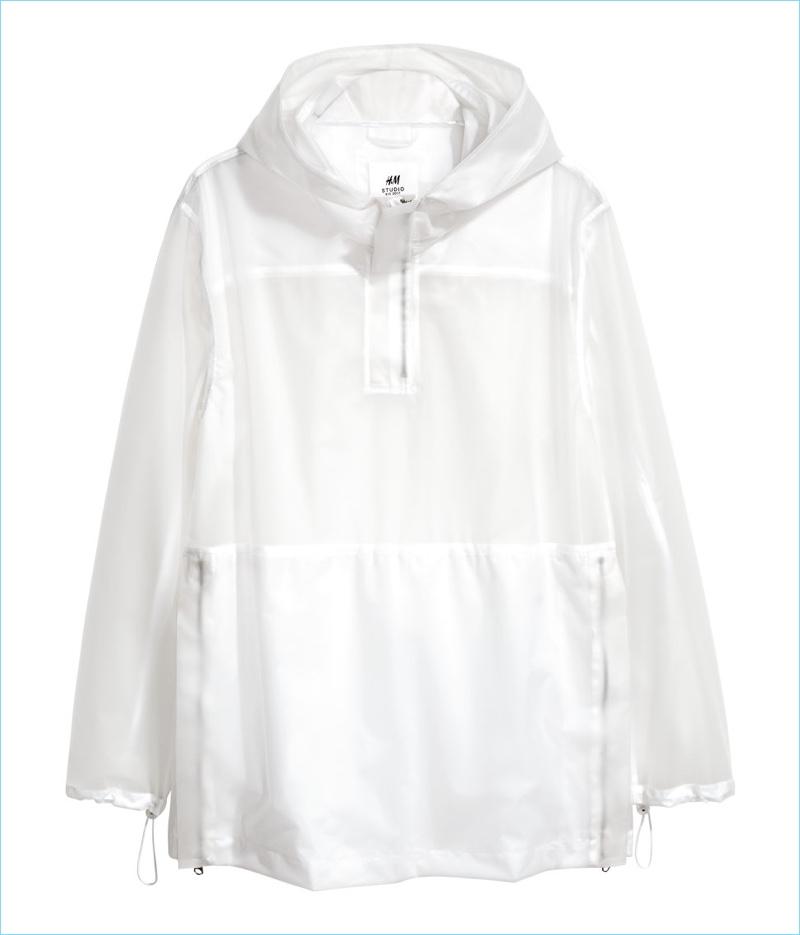 H&M Studio Men's Sheer White Jacket