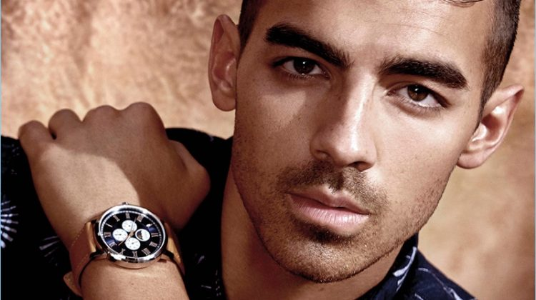 Joe Jonas Snags Another GUESS Campaign, Stars in Watch Ad