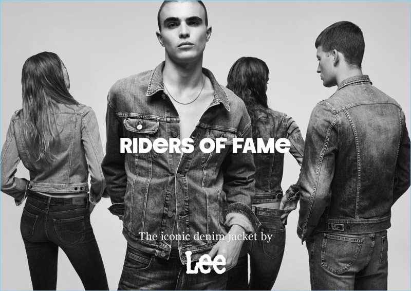 Diego Villarreal fronts Lee Jeans' spring-summer 2017 denim outing.