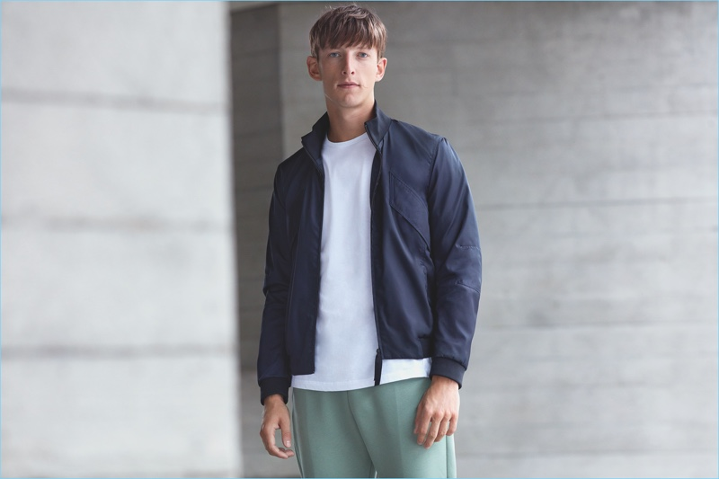 Lou Dalton collaborates with Jaeger for their second collection.