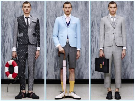 Thom Browne Blends Sartorial & Nautical References for Spring '17